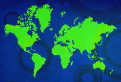 World-map Royalty Free Stock Images