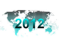 World map 2012. Detailed and accurate illustration of world map 2012 Royalty Free Illustration