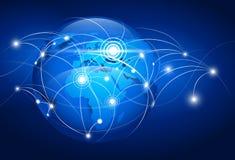 World map. Abstract world map. Vector illustration