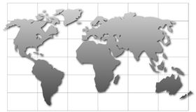 World Map Stock Photo