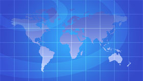 World Map Royalty Free Stock Photo