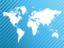 World map. Illustration abstract background royalty free illustration