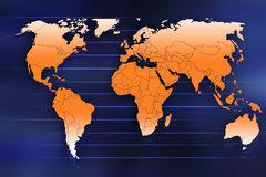 World map. Illustration stock illustration