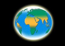 World map. Illustration vector illustration