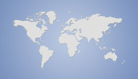 World map royalty free stock photos
