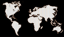 World map. A world map royalty free illustration