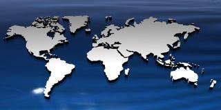 World map Royalty Free Stock Photos