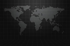 World Map Abstract Background Stock Photos