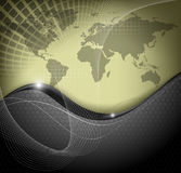 World map abstract background Stock Photo