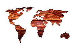 World map. Abstract illustration. Stock Images