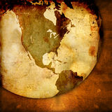 World map - America map royalty free stock photography