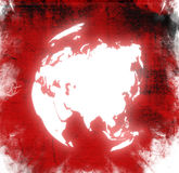World map - asia map Royalty Free Stock Image