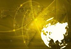 World map - Asia map Stock Photos