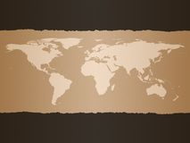 World Map Background. To be used for business presentations for example. See my portfolio for other variations and other backgrounds Stock Image