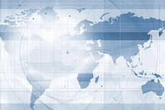 A world map background Stock Images