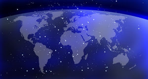 World map background Stock Image