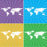 World map background Royalty Free Stock Image
