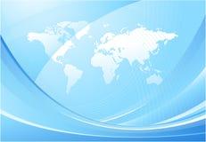 World map background design Stock Photography