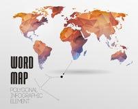 World map background Stock Photo