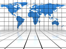 World map background Royalty Free Stock Photo