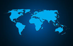 World map background vector illustration Stock Photo