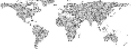 World map black dots stock vector illustration of asia 41577766 world map of black dots banner stock photo gumiabroncs Gallery