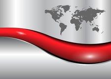 World map business background Royalty Free Stock Image