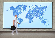World map concept Stock Image