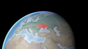 World Map, Crimea and Ukraine, world Stock Photos