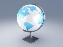 World map, 3D globe. Image of World map, 3d illustration globe Stock Photo