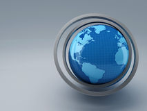 World map 3D Stock Photography