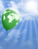 World map environmental scene Stock Photo