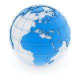 World map - europe Royalty Free Stock Image