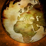 World map - Europe map Royalty Free Stock Image