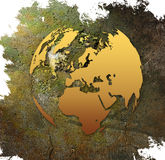 World map - Europe map Stock Photography