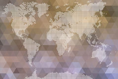 World map Royalty Free Stock Photography