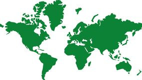 World map global earth