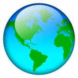 World map globe Royalty Free Stock Photo