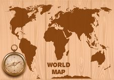 Antique World Map Stock Illustrations 3 388 Antique World Map