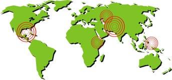 World map Royalty Free Stock Image