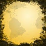 World Map, grunge Royalty Free Stock Image