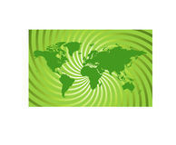 World Map - illustration Royalty Free Stock Image