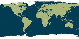 World Map. Illustration of the World Map stock illustration