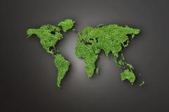 World Map Illustration Stock Photography