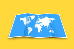 World map 03 Stock Images
