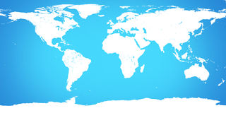 World map light blue background. Elements of this image furnishe Royalty Free Stock Photography