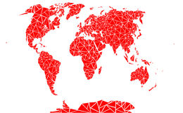 World map. Stock Photo