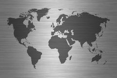 World map - map of the world Royalty Free Stock Image