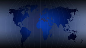 World map - map of the world Royalty Free Stock Images