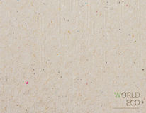 World map recycled paper craft stick  background Stock Images